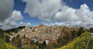 View of a typical ancient city, Sicilia Royalty Free Stock Photography