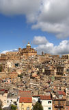 View of a typical ancient city, Sicilia Stock Image