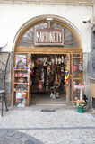 Puppet shop in Prague Stock Images
