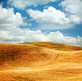 View of typical Tuscany landscape Royalty Free Stock Photo