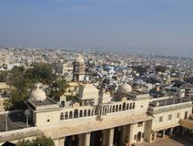View of Udaipur City Royalty Free Stock Photo