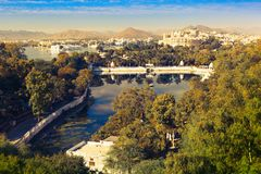 View of Udaipur Royalty Free Stock Photos