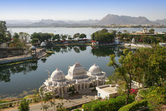 A view of the Udajpur in India –Rajasthan Stock Image