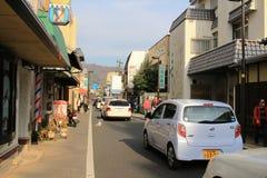 View of UJI street Royalty Free Stock Photo
