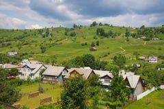 View of the Ukrainian village Stock Photos
