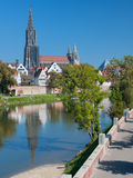View on Ulm in september Royalty Free Stock Images