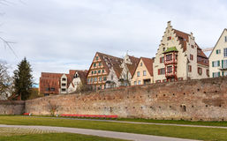 View of Ulm town - Germany, Baden-Wurttemberg Stock Photography