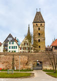 View of Ulm town - Germany Stock Image