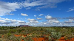 View of Uluru stock photo
