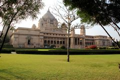 View of Umaid Bhawan Palace Stock Image
