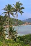 View of Unawatuna, Sri Lanka Royalty Free Stock Photo