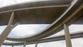 View from under the bridge Royalty Free Stock Photo