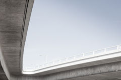 View under overpass Royalty Free Stock Photo