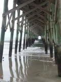 Myrtle Beach pier royalty free stock photos