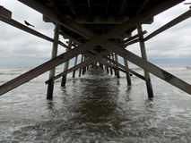 View under Pier stock images