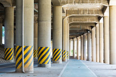 View under the viaduct Royalty Free Stock Photo