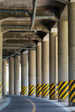 View under the viaduct Royalty Free Stock Image