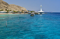 View on underwater observatory near Eilat, Israel Stock Photography