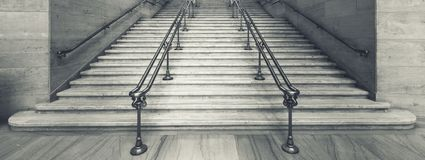 View of Union Station stairs stock photography