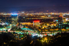 View of Universal City from the Universal City Overlook on Mulho Royalty Free Stock Photo