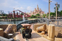 View of the Universal Studio Park 2 Royalty Free Stock Photography