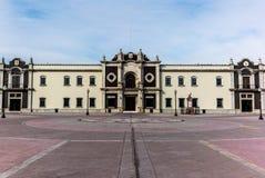 View of the university centre in Monterrey. View of the university center Colegio Civil Centro Cultural Universitario in Monterrey Mexico Royalty Free Stock Photography