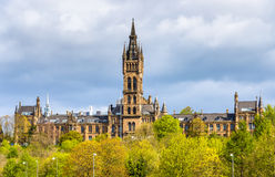 View of the University of Glasgow Royalty Free Stock Images