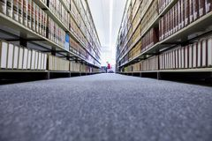 View Of University Library Royalty Free Stock Photography