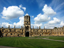 View of university of oxford,england Stock Images