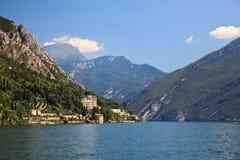 View up Lake Garda Royalty Free Stock Photos