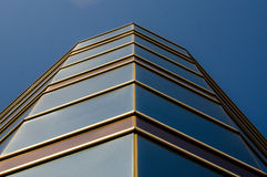 Architectural glass city building. Stock Images