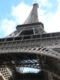 View up to the Eifel tower Royalty Free Stock Photography