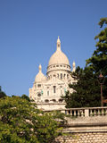 View up towards the Sacre Coeur Stock Photos
