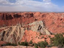 View of Upheaval Dome Stock Photography