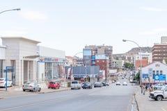 View of upper Church Street Stock Photo