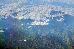 The View of upper clound at japan. The View of upper clound at the  japan Royalty Free Stock Image