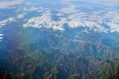 The View of upper clound at japan. The View of upper clound at the  japan Stock Image