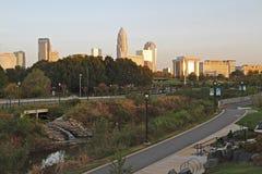 Uptown Charlotte, North Carolina Royalty Free Stock Image