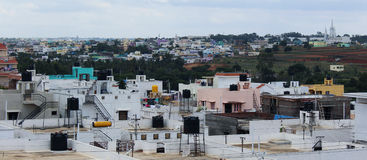 View of urban city. Hosur, tamilnadu, India Royalty Free Stock Photography