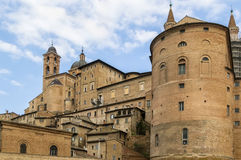 View of Urbino, Italy Royalty Free Stock Image