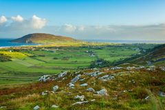 View of Urris/Dunaff from Mamore Gap, Clonmany, Co. Donegal. View of Urris/Dunaff from Mamore Gap, Clonmany, Co. Donegal, Ireland royalty free stock photos
