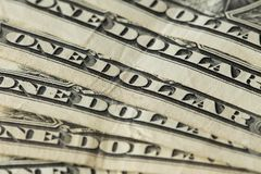 View of the USA money / dollars Stock Photo