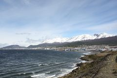 View of Ushuaia, Patagonia Stock Image