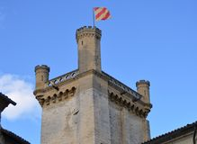 View on Uzes France Stock Image