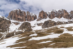 View on Val di Fassa Stock Photos