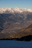 View of Valais Royalty Free Stock Photos