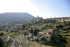 View of Valldemossa, Majorca Stock Photography