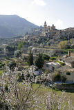 View of Valldemossa, Majorca Royalty Free Stock Photo