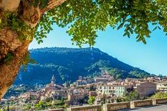 View on Valldemossa Mallorca royalty free stock photo