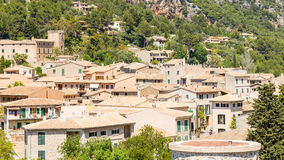 View of Valldemossa town, Majorca Royalty Free Stock Image